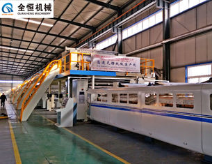 China 250kw Corrugated Cardboard Making Machine Width 1400mm-2500mm Electricity 380V 50Hz supplier