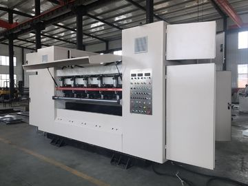 China Low Noise Corrugated Slitter Machine Size 3880*1650*2340 Touch Screen CNC System supplier
