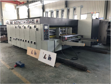 China Automatic Flexo Printer Slotter Machine Steel Material With Ink Transfer System supplier
