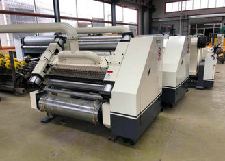 China Automatic Single Facer Corrugated Machine Electric Heating For Corrugated Carton Making supplier