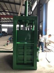 China 40 T Hydraulic Type Waste Paper Baler With Pushplate Push Back Machine supplier