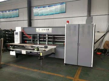 China 150pcs/Min Corrugated Slitter Machine Auto Suction Feeding Slotter Safety Operation supplier