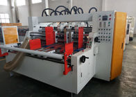 China 7.5kw Carton Stitching Machine Width 130mm Auto Suction Feeding For Carton Box Making factory