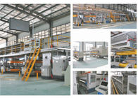 China 5 Layer Corrugated Cardboard Production Line , 80KW Packaging Box Manufacturing Machine factory