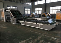 China 1300mm Automatic Flute Laminator Machine For Steel Material 6000pcs / H factory