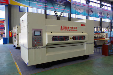 China Servo Types Corrugated Slitter Machine 200m/Min Width 1800mm For Paper Slitting distributor