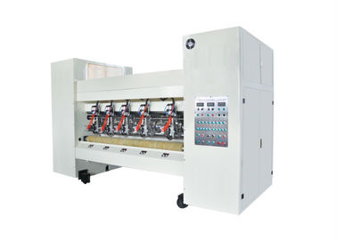Automatic Cardboard Box Die Cutting Machine , Computer Control Cardboard Manufacturing Machine