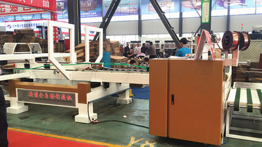 China Automatic Corrugated Box Stitching Machine High Speed Display Adjustment Control distributor