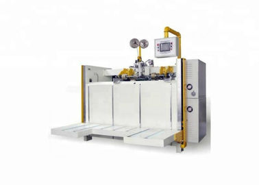 China Double Servo Folding Stitching Machine 500stitch/Min Nail Speed 500 Nails/Min factory
