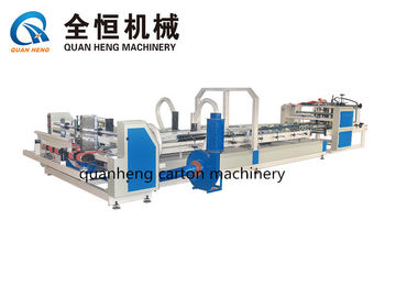 China High Speed Folder Gluer Machine Dimensions 1000×3000×1600mm 150 Pcs/Min With Strapping distributor