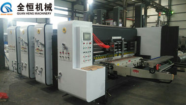 China Flexo Printer Slotter Machine Equipment Thickness 2-10mm Four Colors Printing factory