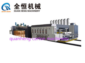 China 380V Flexo Printer Slotter Machine Printing Die cutter with folder gluer  Thickness 1200×1800mm factory