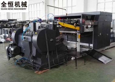 China Commercial Corrugated Die Cutting Machine , High Precision Flat Bed Die Cutting Machine factory