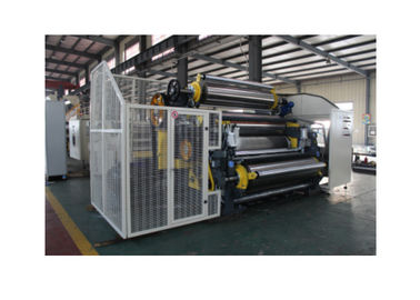 China Cassette Type Corrugated Cardboard Machine , Width 2200mm Carton Box Making Machine distributor