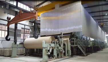 China Electric Tissue Paper Manufacturing Machine , Paper 70-300 G/M² Cotton Paper Making Machine distributor