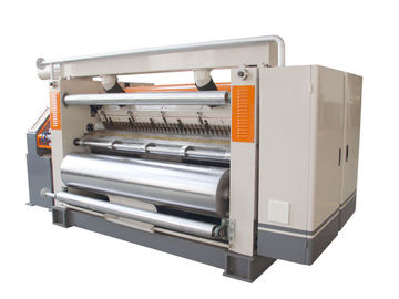 China 380V Single Facer Corrugated Machine 150m/Min Fingerless Type Width 1800mm distributor