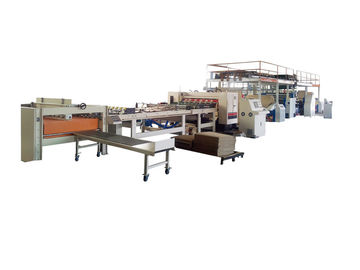 2 Layer Corrugated Cardboard Making Machine Automatic High Speed 150 m/min CE Approved