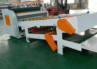 China 6KW Corrugated Cardboard Making Machine Computer Control For Single Facer Line distributor
