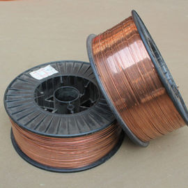 China 1.8x0.7mm Copper Stitching Wire , Stong Corrosion Resistance Galvanized Flat Wire distributor