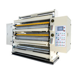 China Double Gluer Machine / Duplex Gluer Corrugator Machine 360V 50Hz Frequency distributor