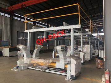 China QHCL1800mm - 5 Ply Corrugated Cardboard Production Line / Corrugator Line distributor