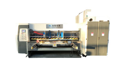 China Three Color Printing Die Cutting Machine Automatic Leader Edger Feeder distributor