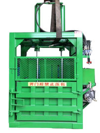 China 40T Hydraulic type Waste Paper baler with pushplate Push back Machine distributor
