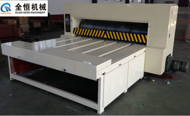 China 380V Flatbed Die Cutter Machine 60 Pcs/Min Thickness 3-7layers For Corrugated Carton Box distributor