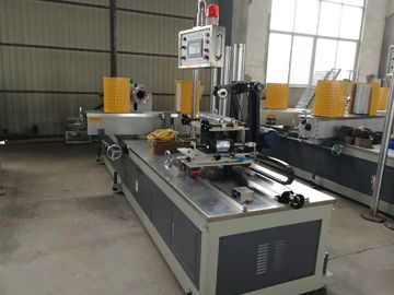 China 4 Head Paper Core Tube Making Machine 0-15m/Min Paper Thickness 2-15mm distributor