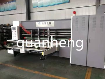 China High Speed Corrugated Cardboard Automatic Lead Feeder Slotter Machine distributor