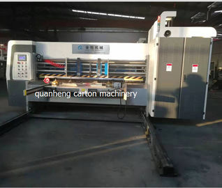 China 1400*2500*2900 Lead edge feeder Three colors Printer Die cutter machine distributor