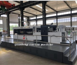 China QH corrugated cardboard paper automatic die cutter and creasing machine distributor